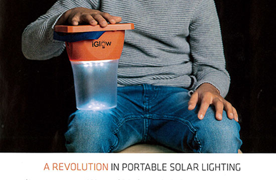 iGlow Solar Lantern – 5in1 Charger